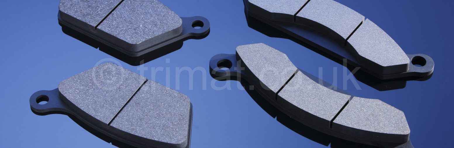 pressed brake linings, pressed friction components, moulded brake lining