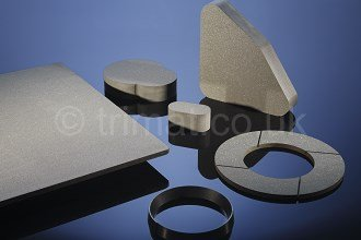 moulded press blocks, moulded friction rings