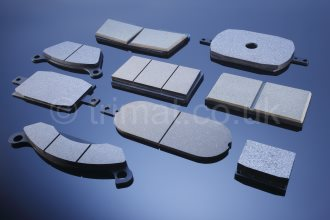 atex brake pads, disc brake linings, disc brake pads, heavy duty brake pads, integrally moulded friction material