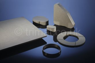 flat sheet rigid moulded brake lining