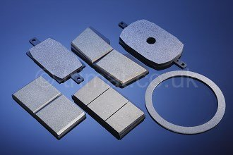 drawwork brake blocks, mooring winch brake linings, crane brake linings