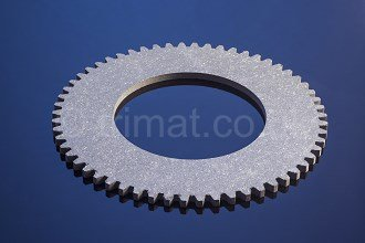 brake linings for tensioning devices, centrifugal brake linings, tension brake friction materials, gear cut facings