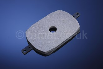 friction material for wind farms, bonded brake pads, friction pucks, sintered pucks