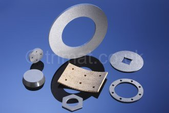 friction clutch parts, friction components, friction brake parts, flexible friction material, disc brake segment