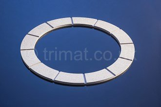 gear cut friction facings,thick section friction sheet, friction discs, friction pucks
