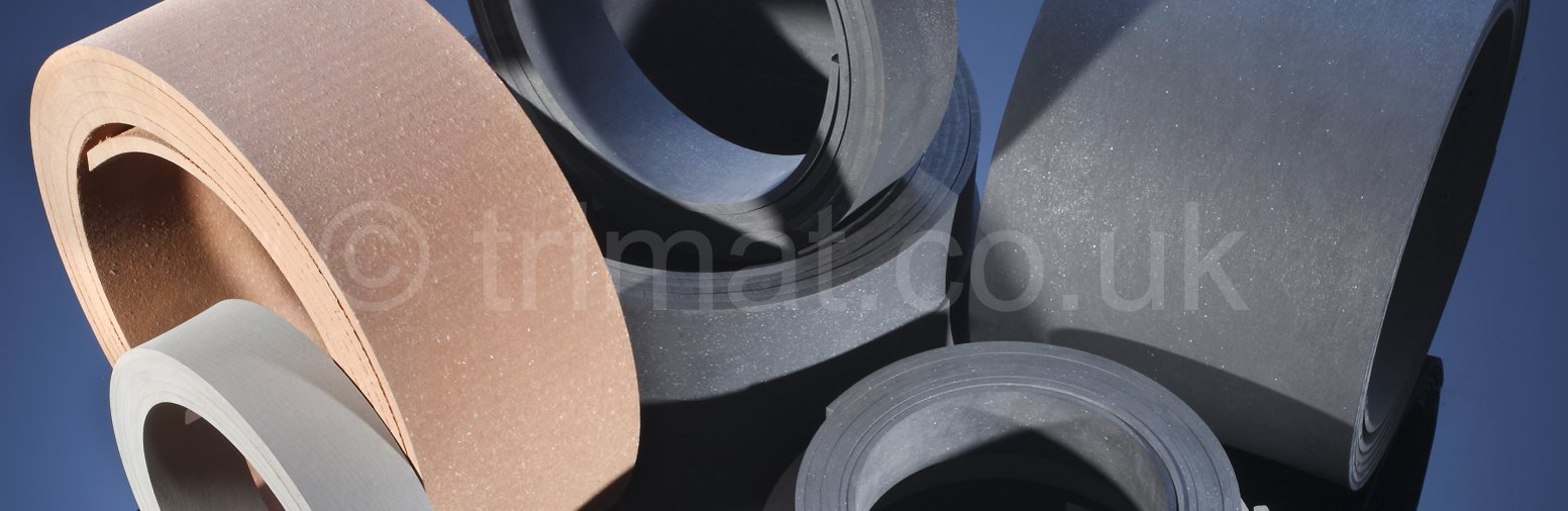 extruded friction sheet, extruded roll brake lining, flexible roll brake lining